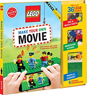 Klutz Lego Make Your Own Movie Craft Kit, Multi-Colour, 26.16 x 24.89 x 2.28 cm