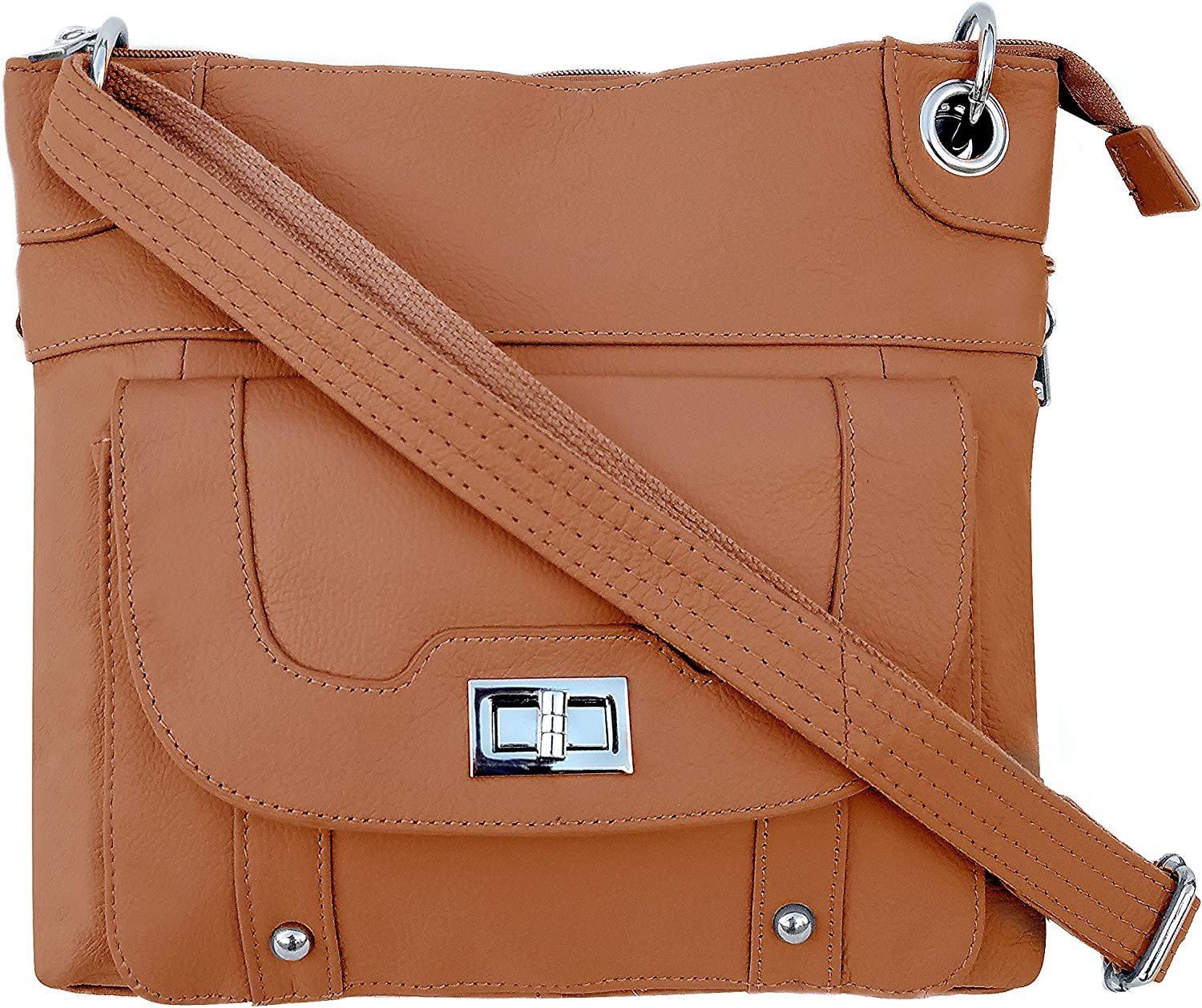 Ladies' Gun Concealment Crossbody Bag