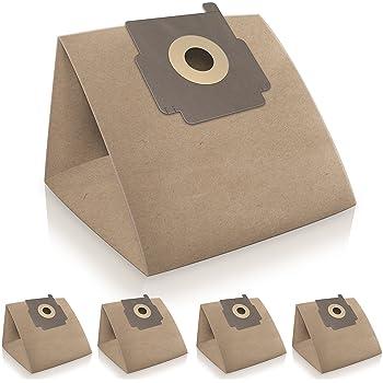 WESSPER® Bolsas de aspiradora para Bluesky AP1500 (5 Piezas, Papel ...