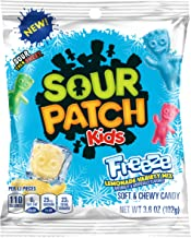 Sour Patch Kids Freeze Assorted Fat Free Candy, 3.6 Ounce, 12 Count