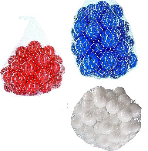 precios al por mayor Pelotas para pelotas pelotas pelotas baño variadas Mix con Color blanco, azul y rojo Talla 6000 Stück  ¡No dudes! ¡Compra ahora!