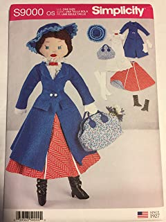 Simplicity Sewing Pattern S9000 OS Mary Poppins 17