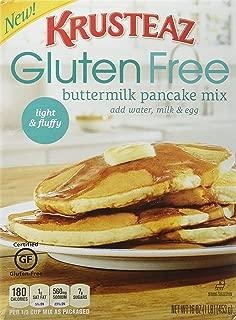 Krusteaz, Gluten Free, Pancake Mix, Buttermilk, 16oz Box (Pack of 3)