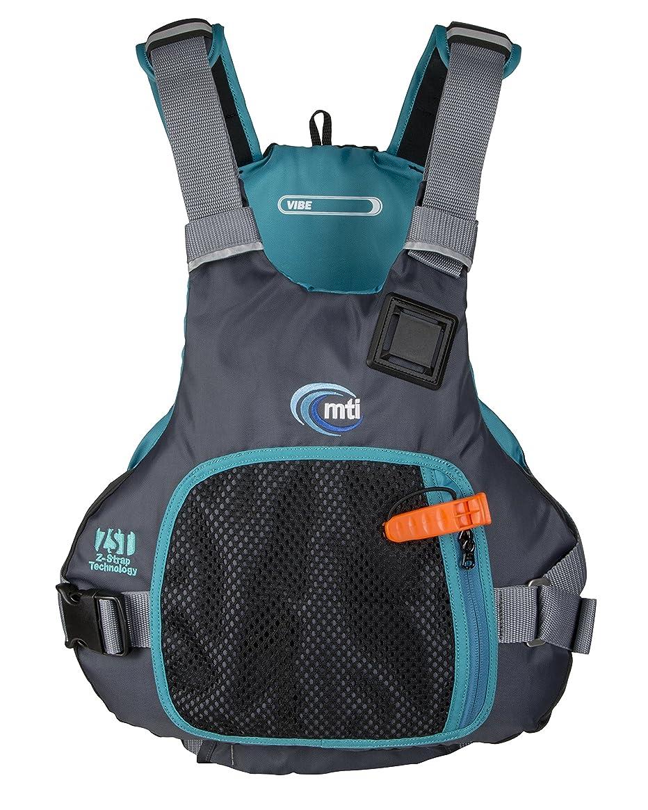 MTI Vibe Life Jacket - Black/Turquoise - SM/MD (30-40'')