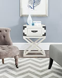 Safavieh American Homes Collection Dunstan Accent Table, White