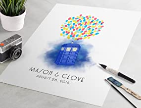 doctor who wedding guest book