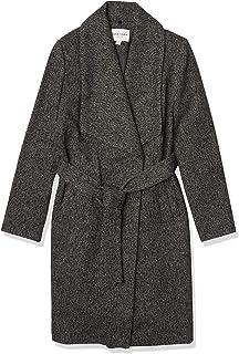 Cole Haan Women's Belted Asymmetrical Wool Coat