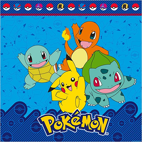 Pokemon I Choose You Pikachu And Friends Kids Shower Curtain