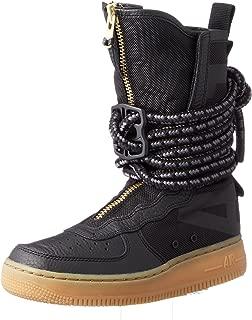 SF Air Force 1 High Top Womens Boots Black/Gum Light Brown/Black aa3965-001