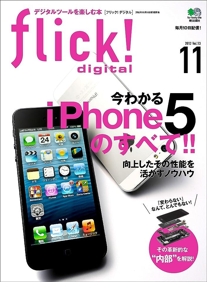 魅惑的な同化する改修するflick! digital(フリックデジタル) 2012年11月号 Vol.13[雑誌]