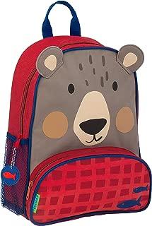 Stephen Joseph Boys' Little Sidekicks Backpack, Bear, Size