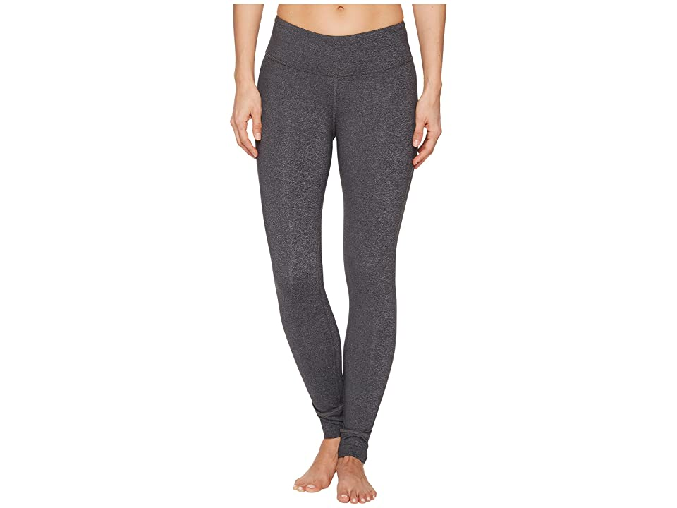 Reebok Lux Tights (Dark Grey Heather) Women