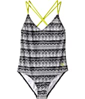 Roxy Kids - Gypsy Geo One-Piece (Big Kids)