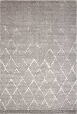 """Nourison Twilight (TWI15) Grey Rectangle Area Rug, 9-Feet 9-Inches by 13-Feet 9-Inches (9'9"""" x 13'9"""")"""