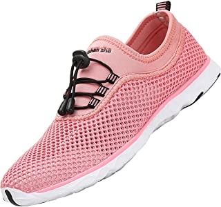 SAGUARO Mens Womens Water Shoes Breathable Quick Drying Non-Slip Lightweight