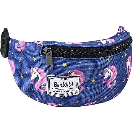 Mädchen Kinder Bauchtasche Gürteltasche Hüfttasche Pferd Fohlen pink