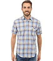 James Campbell - Chimala Plaid Short Sleeve Woven