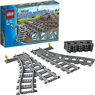 LEGO 7895 City Switching Tracks Shaped Building Blocks