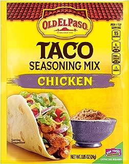 Old El Paso Chicken Taco Seasoning Mix, 0.85 Ounce