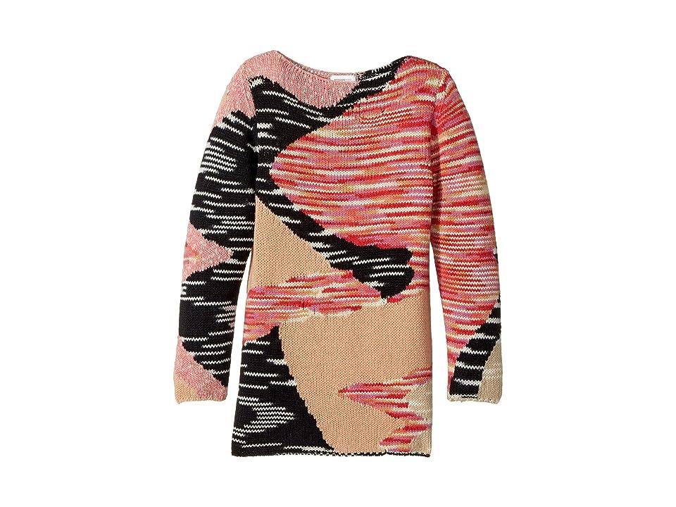 Missoni Kids Mini Miss Sweater Dress (Big Kids) (Pink) Girl