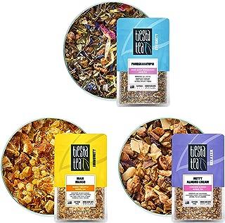 Tiesta Tea - Herbal Loose Leaf Tea Pouch Set, Medium to No Caffeine, Hot & Iced Tea, Variety Pack with Herbal, White & Fru...