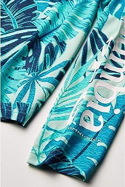 Dolphin Tropical Textures