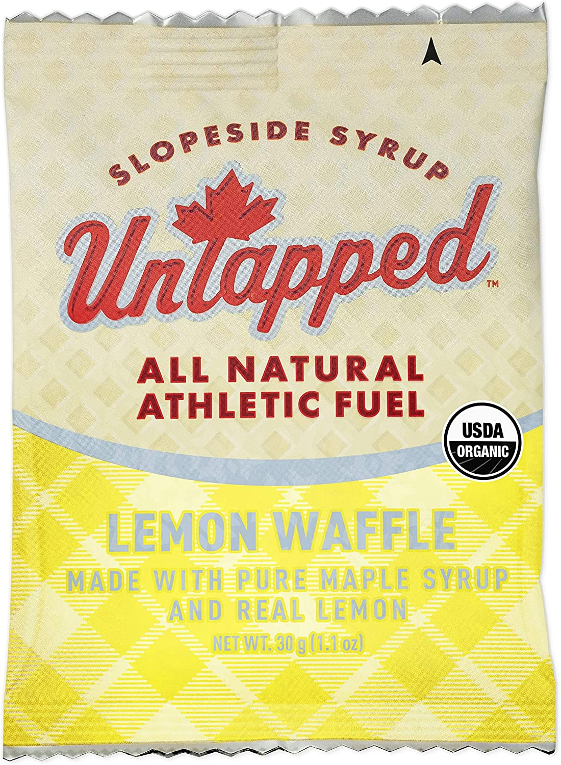 Untapped Weekly update Organic Maple Lemon Waffle Individually Attention brand Box Wrapped -