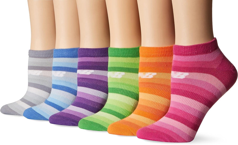 New Balance Women's Lifestyle 3 Pack Low Cut Socks
