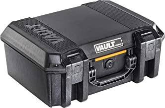 Vault by Pelican – V300 Pistol Case with Foam (Black)