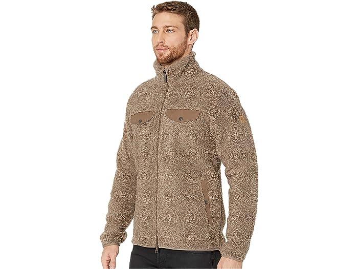 Fjällrävengreenland Pile Fleece Taupe Cos & Outerwear