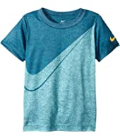 Nike Kids - Faux Heather Dri-FIT Tee (Toddler)