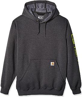 Men's Big Midweight Sleeve Logo Hooded Sweatshirt...