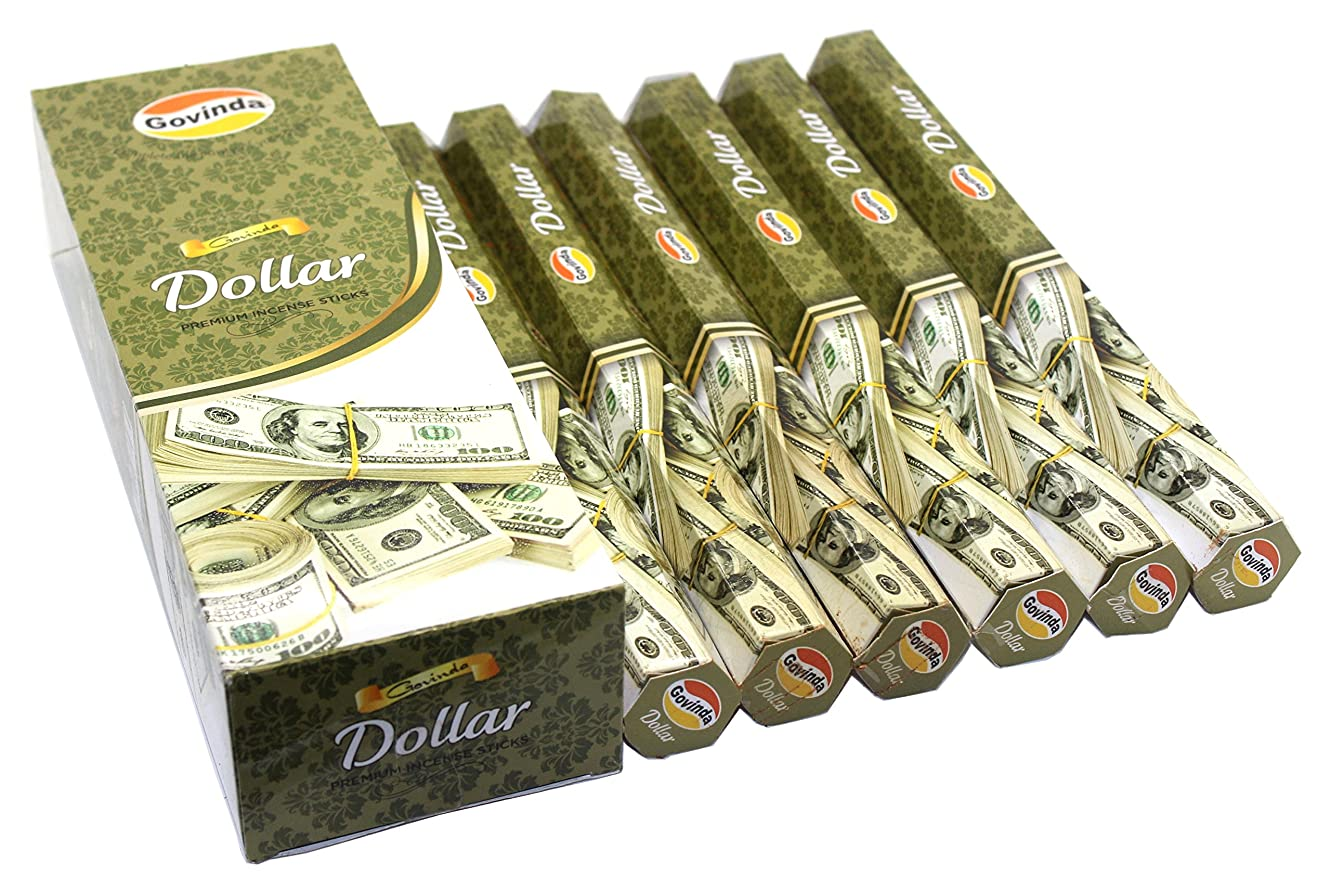 カプラー泥沼ビタミンGovinda Incense?–?Dollar?–?120?Incense Sticks、プレミアムIncense