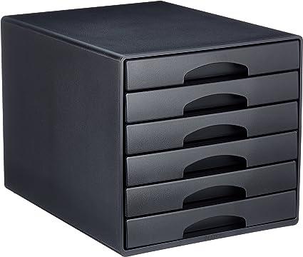 Leitz A4 Bloc De Classement 6 Tiroirs Noir Plus 52120095 Amazon Fr Fournitures De Bureau