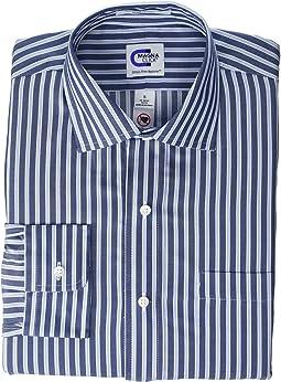 Navy Twill Stripe 1