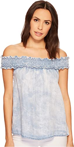 Tencel Off the Shoulder Top