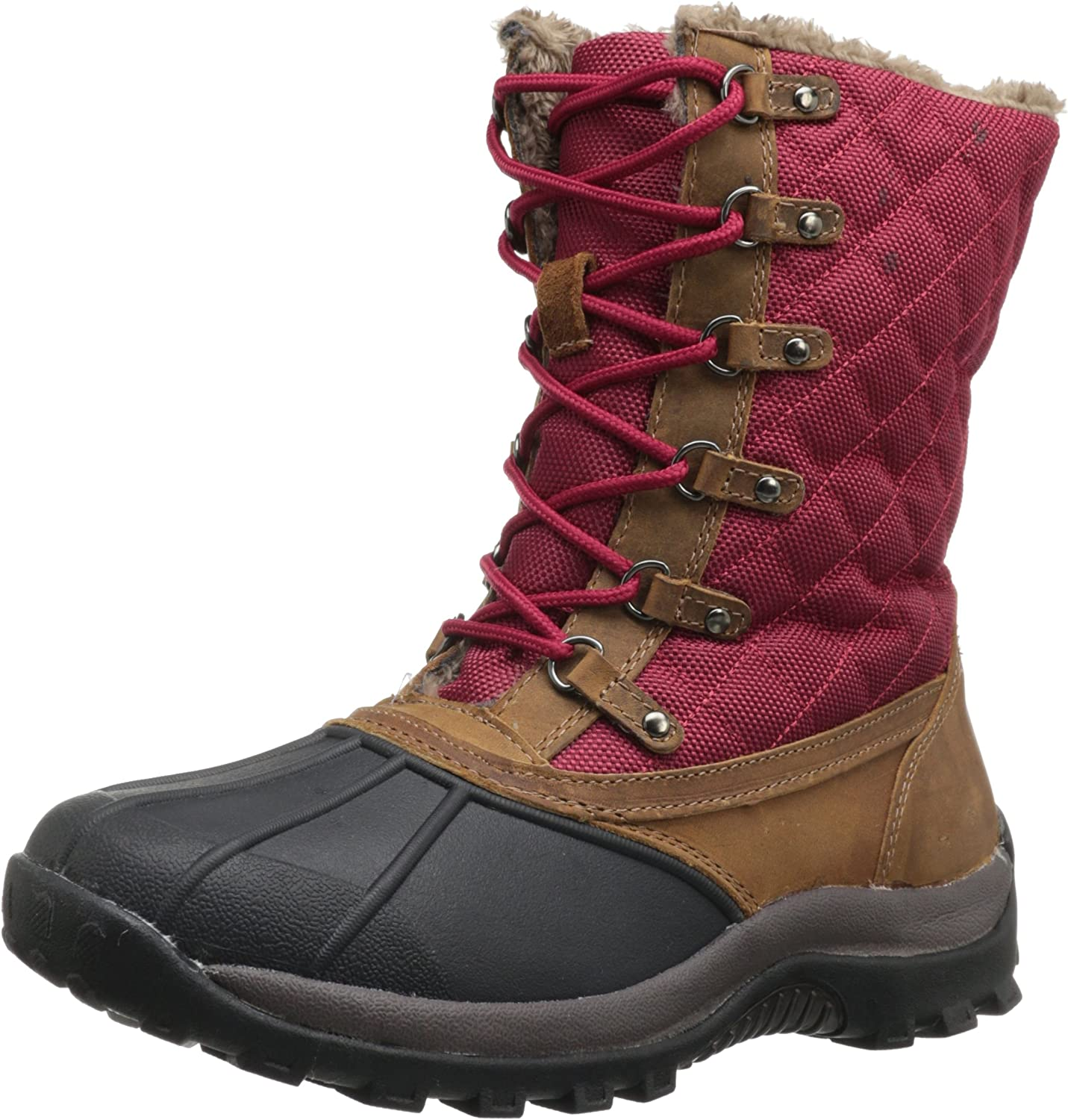 Propet Women's Blizzard Mid Lace Boot Brown