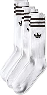 adidas Men's Solid Crew Socks