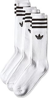 adidas Unisex Solid Crew Socken, 3er Pack