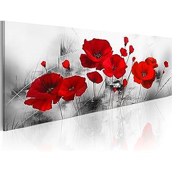 Gigli Astratto Quadro su Tela TNT Stampe Immagini Murale Quadri b-C-0152-b-n