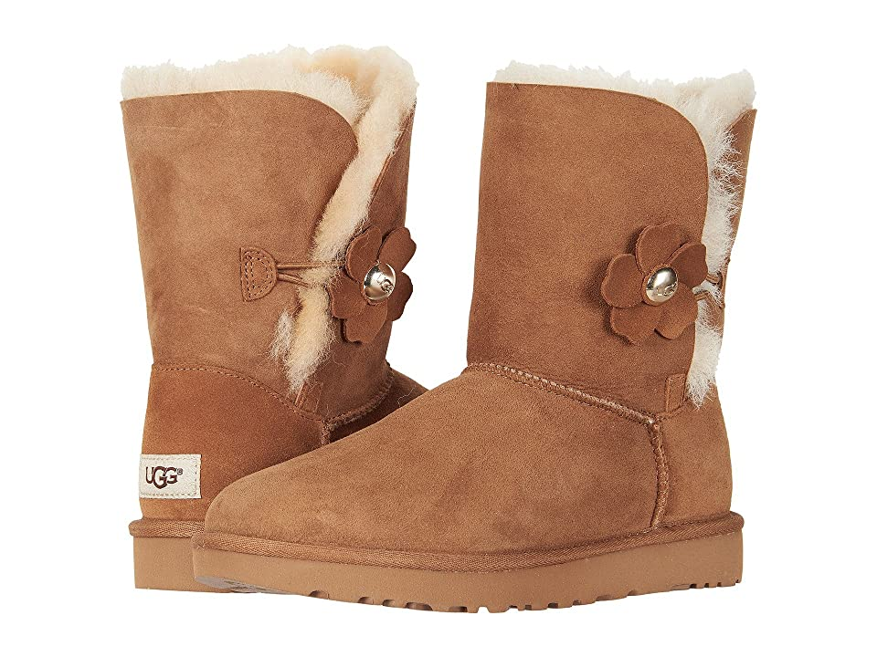 UGG Bailey Button Poppy (Chestnut) Women