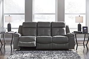 Jesolo Casual Faux Leather Reclining Sofa