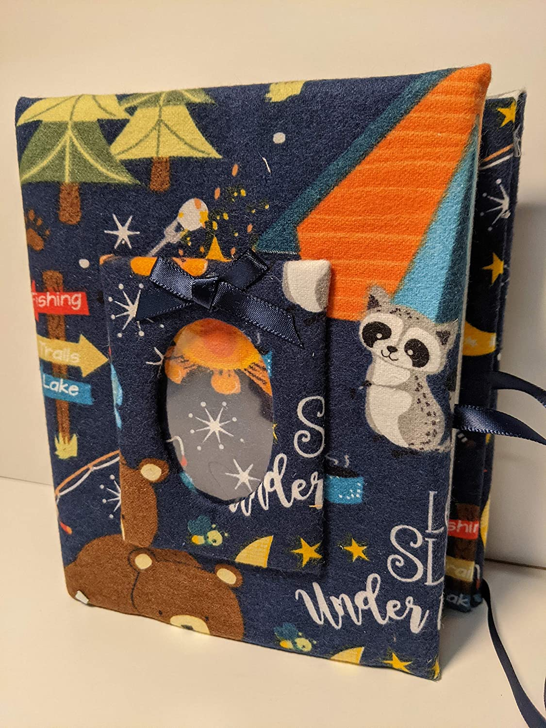 Camping Some reservation Photo Album for Low price Boy - Handmade H Baby