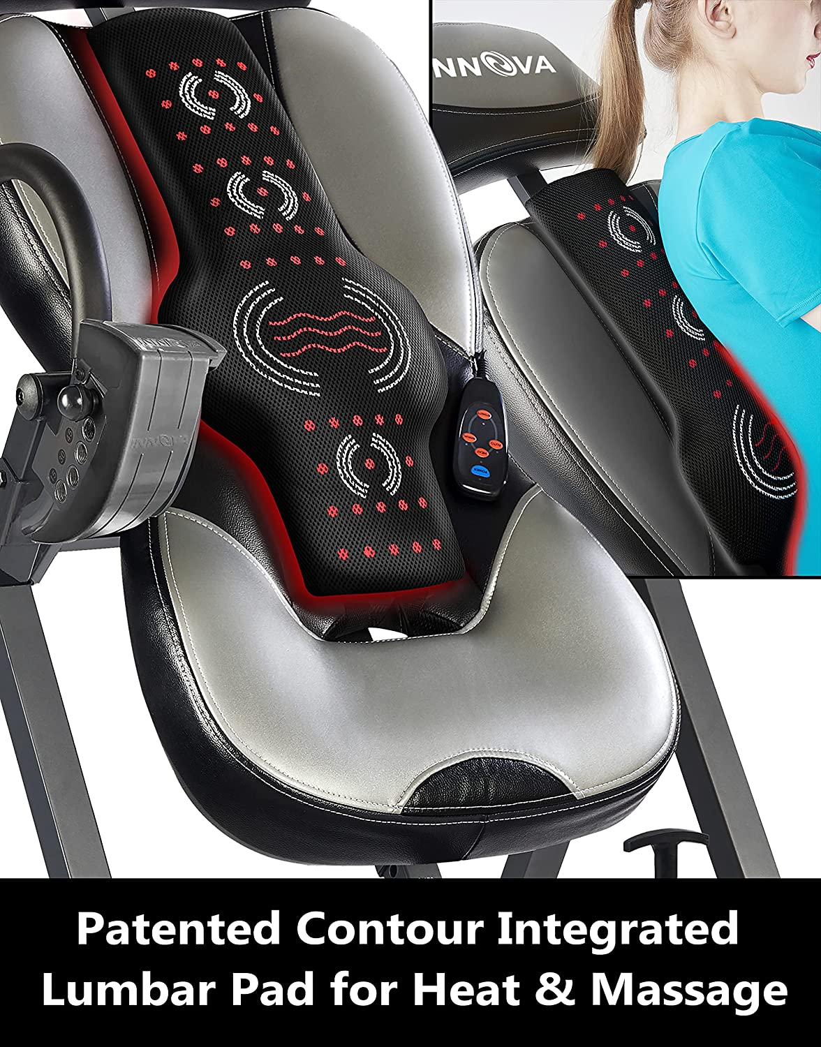 Innova Inversion Table (Buying Guide 2021) - Heat & Massage