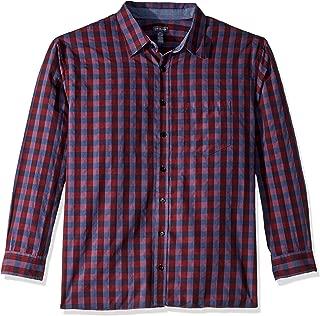 Van Heusen Men's Big and Tall Never Tuck Long Sleeve Shirt