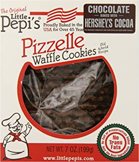 Little Pepi's Pizzelles, Chocolate, 7 Ounce