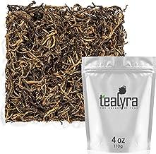 Tealyra - Yunnan Golden Special - Black Loose Leaf Tea - Best Chinese Black Tea - Organically Grown - Perfect Morning Tea - 110g (4-ounce)