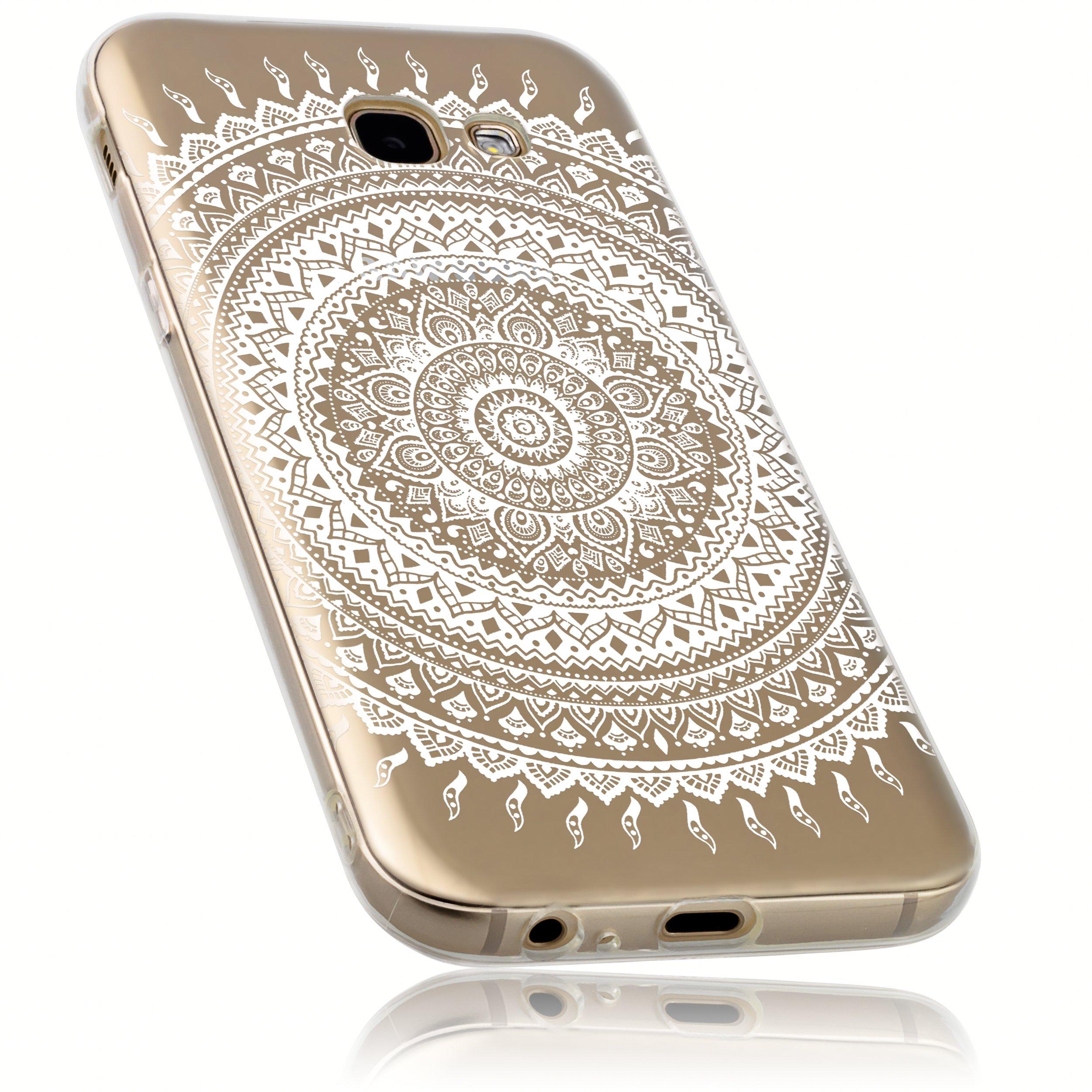 mumbi Funda Compatible con Samsung Galaxy A5 (2017) Caja del teléfono móvil Avec Motif Mandala, Transparente: Amazon.es: Electrónica