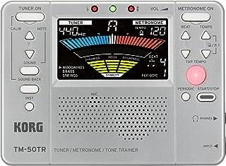$26 » Korg TM50TRSL Trainer Metronome Tuner, Silver