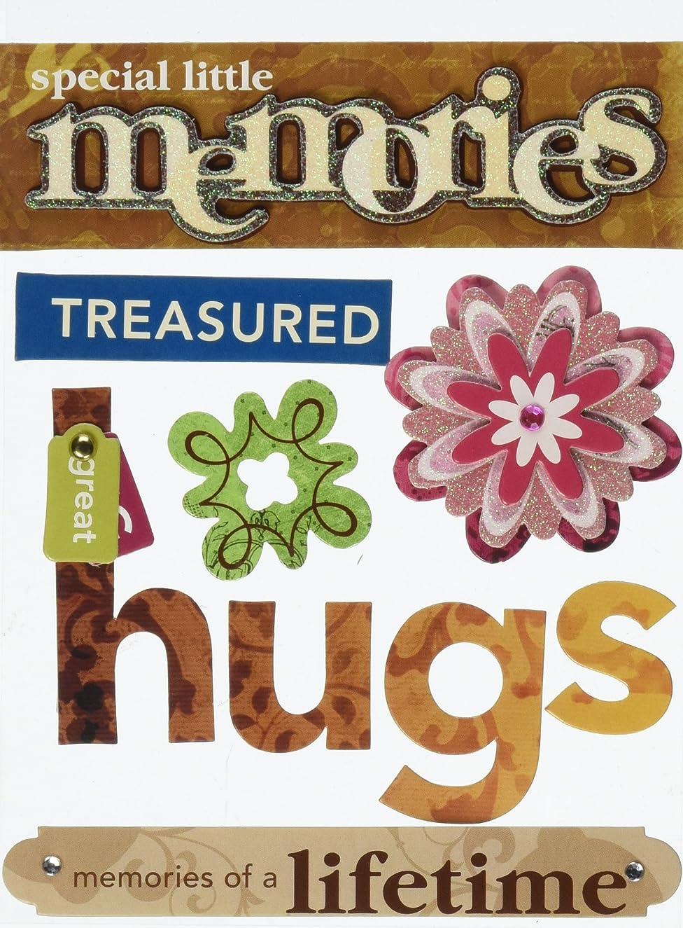 Me & My Big Ideas Soft Spoken Themed Embellishments, Little Memories